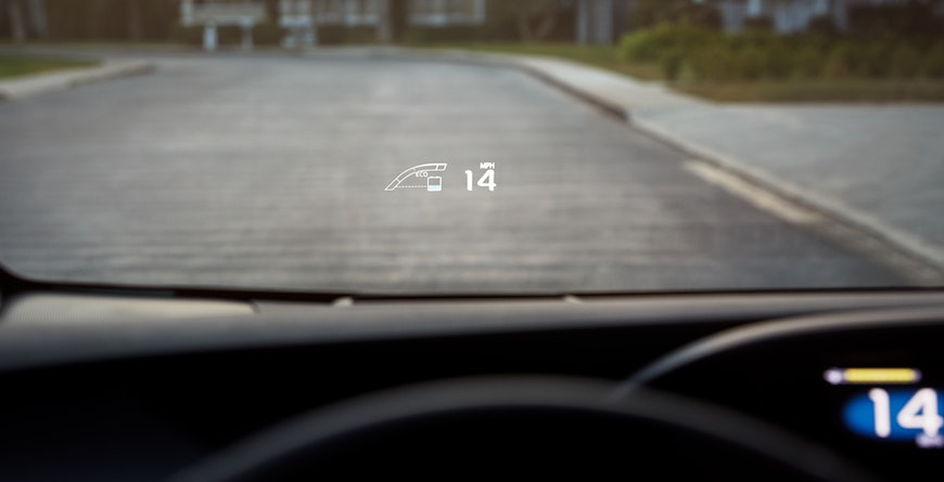 COLOR HEAD-UP DISPLAY