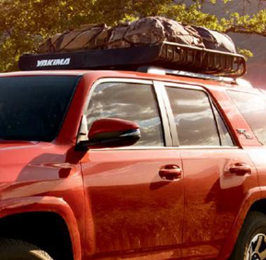 Yakima roof rack.