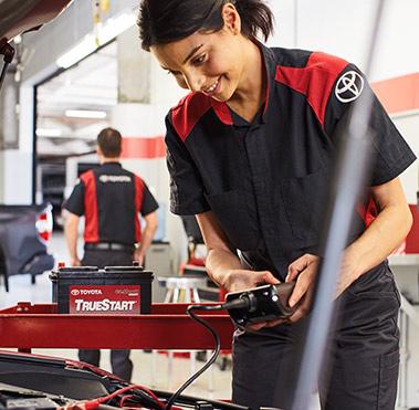 Toyota TrueStart battery.