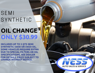 Semi Synthetic Oil Change service special