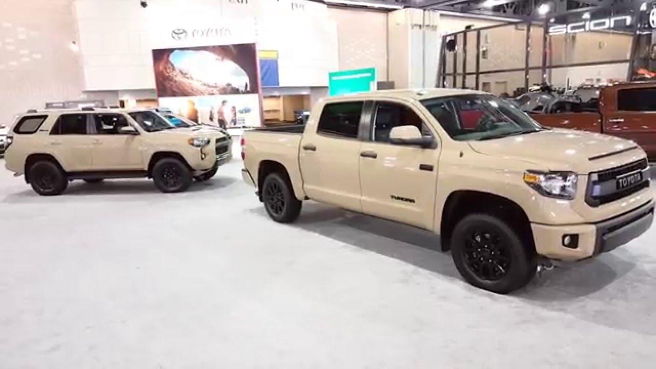 Explore the Rugged Toyota 4Runner TRD Pro & the Stylish Toyota Tundra TRD Sport