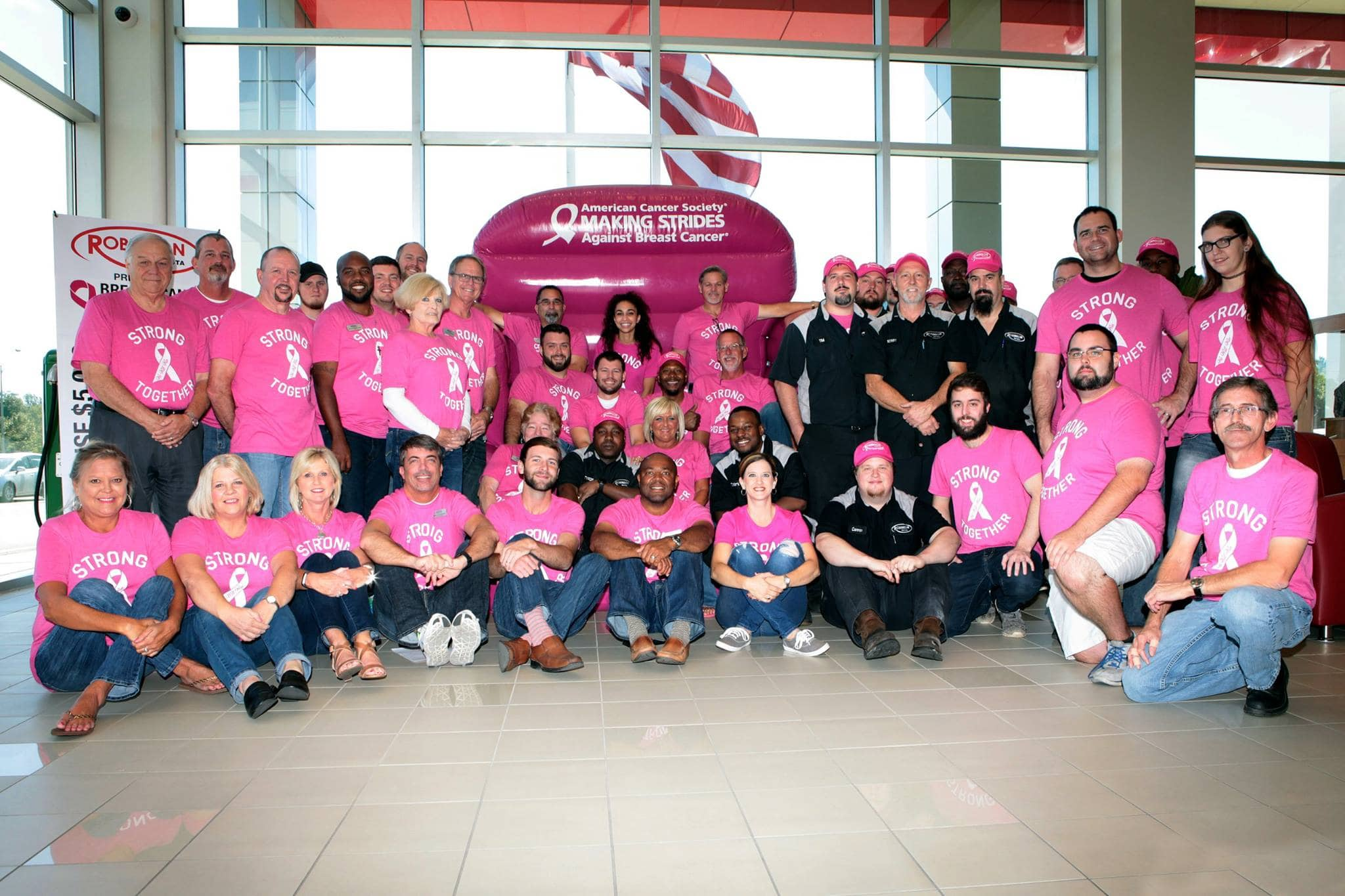 Robinson Toyota is Help Making Strides Against Breast Cancer!