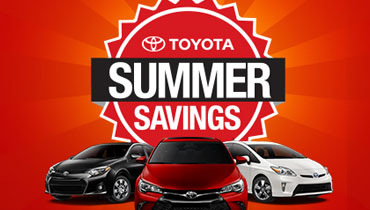 Find Big Summer Savings For Your Favorite Toyota Cars, SUVs and Trucks!