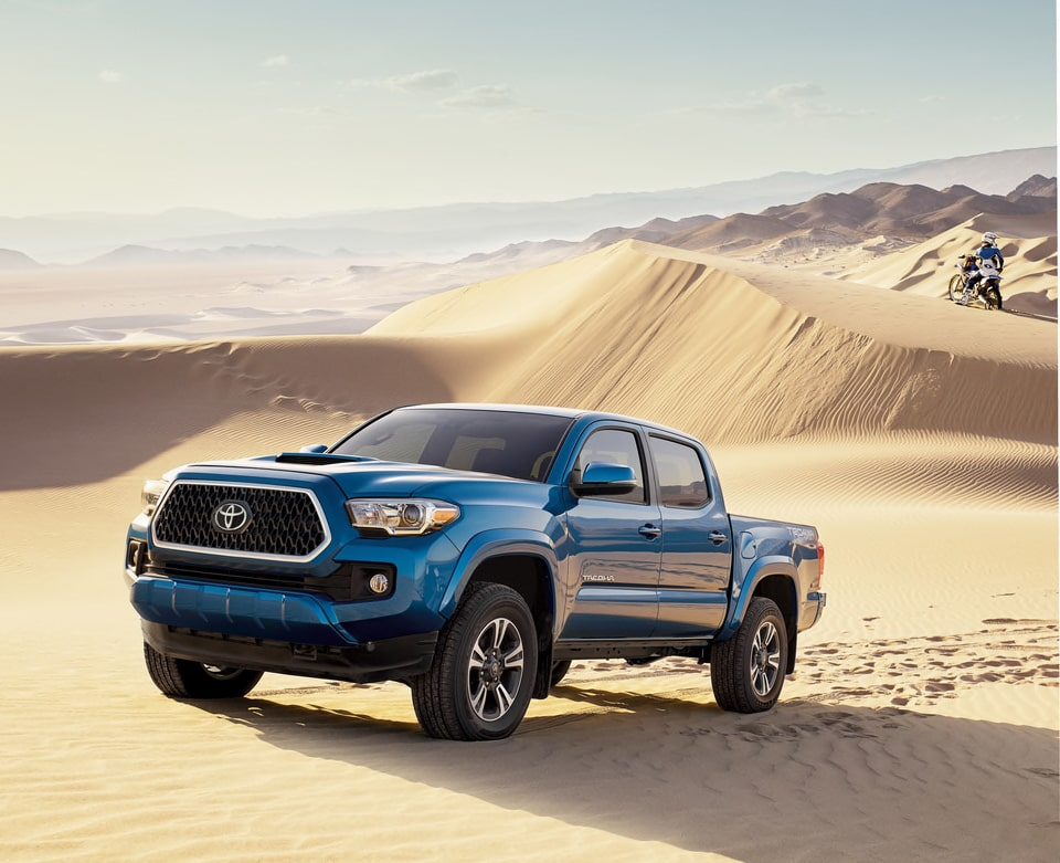 Remarkably Rugged & Refined - Discover Why You Will Love the New Toyota Tacoma here in Jackson, TN.