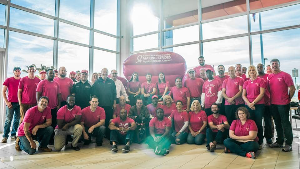 Robinson Toyota is Proudly Helping Make Strides Against Breast Cancer!