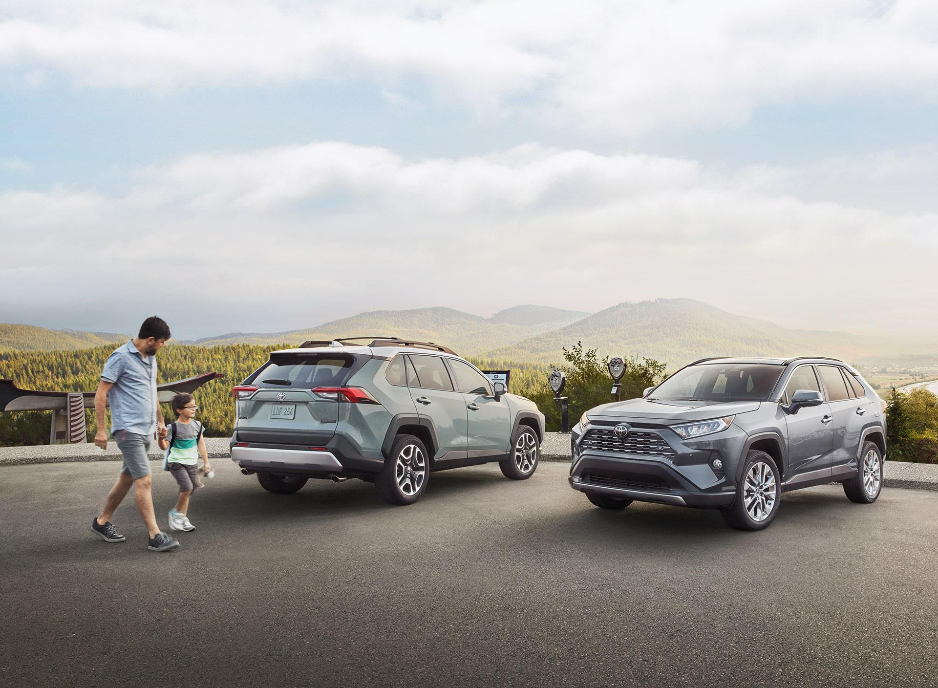 New Toyota SUVs