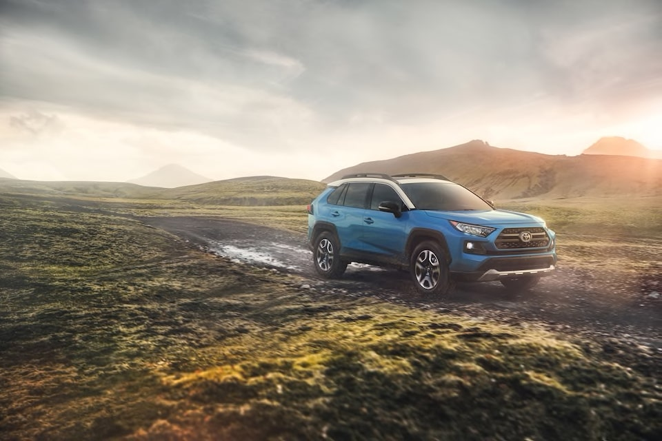 Exploring the Adventure-Ready & All-New 2019 Toyota RAV4 Crossover SUV!