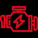 vehicle motor icon