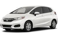 honda fit - white exterior