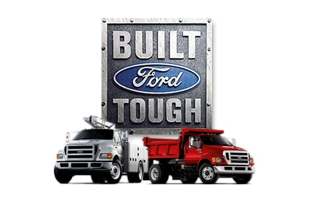 Built Ford Tough logo
