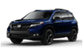 homepage image of dark blue honda passport