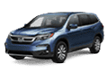 homepage image of honda pilot front view