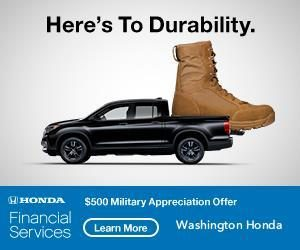 Washington Honda $500 offer